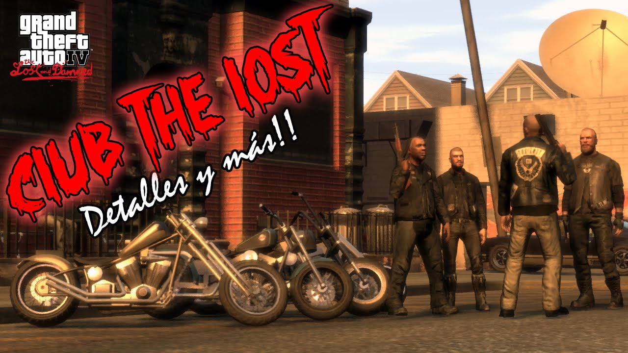 gta the lost and damned club the lost mc analisis a fondo tour detalles y ms