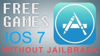 КАК БЕСПЛАТНО Установить Игры на iOS 7 без Джейлбрейка