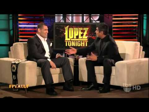10-25-10 UFC Heavyweight Champion Cain Velasquez Talks about His Victory on Lopez Tonight.flv