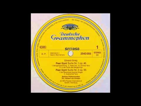 Grieg, Peer Gynt Suite, Karajan