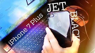iPhone 7 Plus розпакування Jet Black - Чорний Онікс за недорого :)