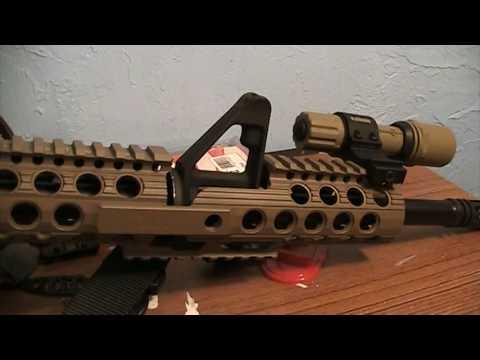 Troy Delta Carbine FDE Rail Review