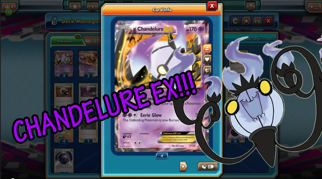 Chandelure Deck Pokemon Trading Card Game Online Youtube