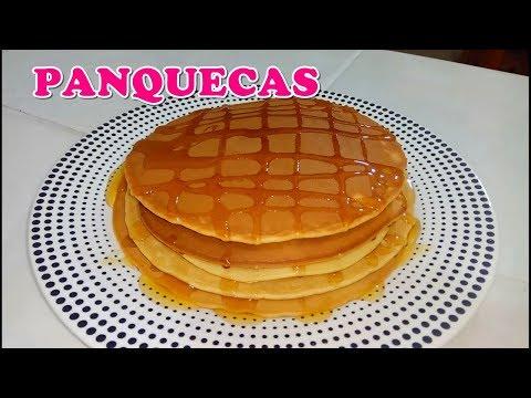 COMO HACER PANQUECAS | PANQUEQUES ESPONJOSOS | PANQUECAS PARA EL DESAYUNO | COCINA CON MEY LANG