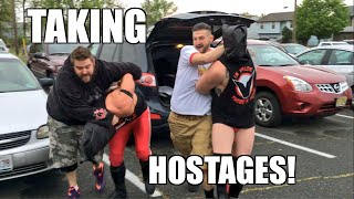 TAKING CURT HAWKINS WRESTLING STUDENTS HOSTAGE!!