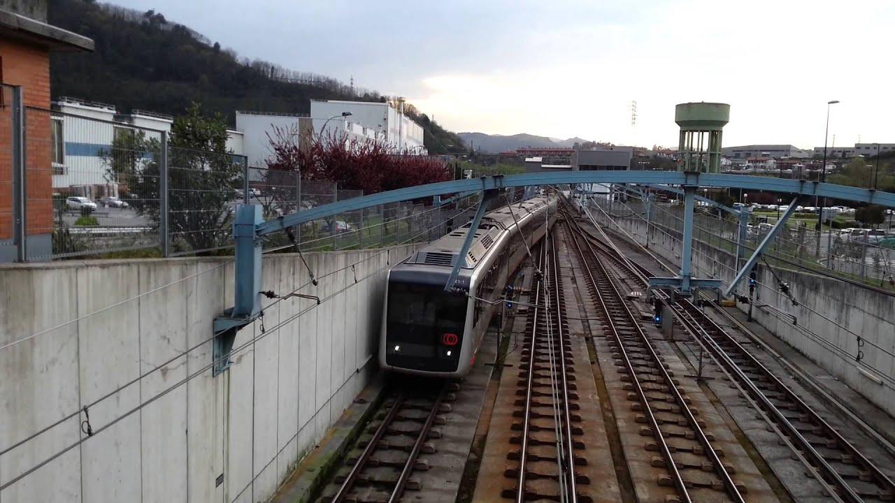 Metro bilbao 521 sin servicio en etxebarri youtube for Oficinas metro bilbao