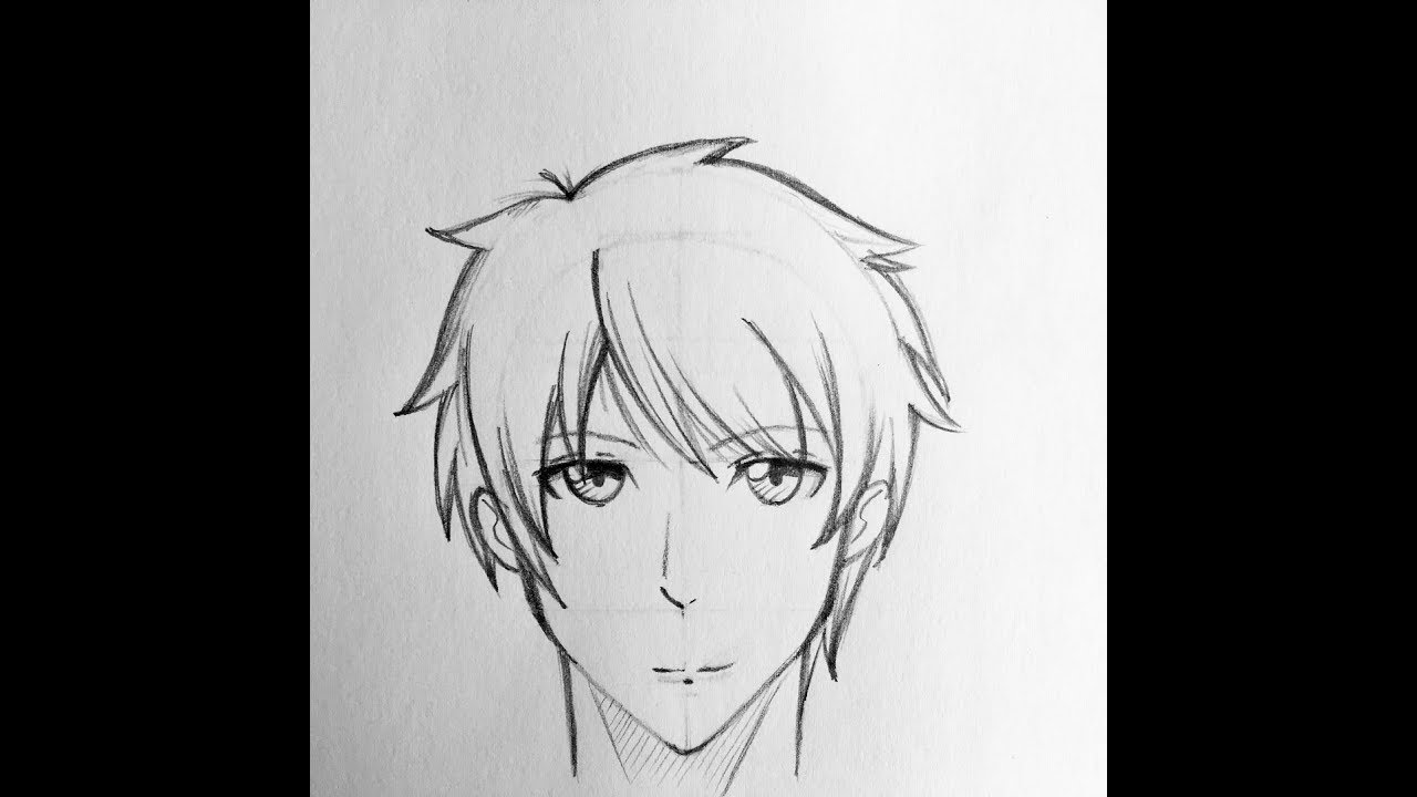 Anime Male Face Shapes Drawing