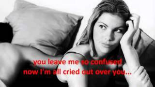 All Cried Out - Lyrics