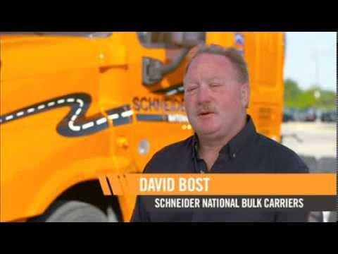 Meet David Bost, Schneider Tanker Driver