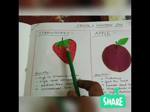 DIY School projects- fruits