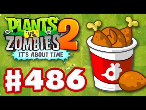 Plants vs. Zombies 2: It's About Time - Gameplay Walkthrough Part 486 - Chicken Week! (iOS)