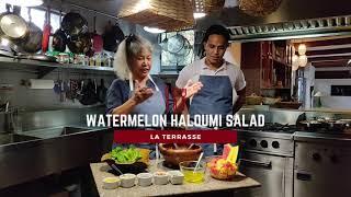 Philippine Delicacies | Watermelon Haloumi Salad