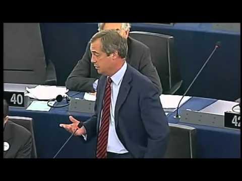 UKIP Nigel Farage takes on Jose Manuel Barroso - September 2012
