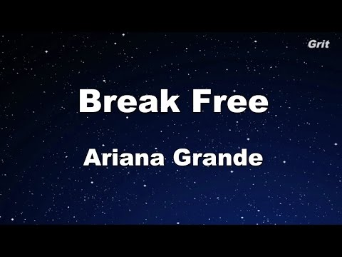 Break Free - Ariana Grande Karaoke【With Guide Melody】
