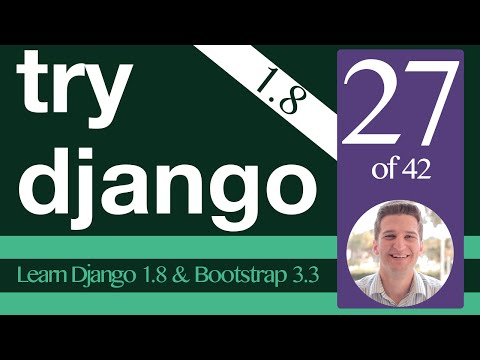Try Django 1.8 Tutorial - 27 of 42 - Django Registration Redux  - Learn Django