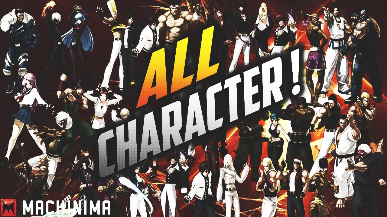 King Of Fighters Xiii All Character Youtube