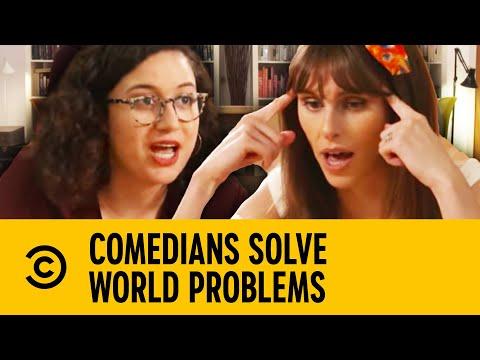 Comedians Solve World Problems - Donald Trump | Comedy Central UK