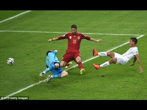 Spain vs Chile World Cup 2014 - Full Match Review Highlights