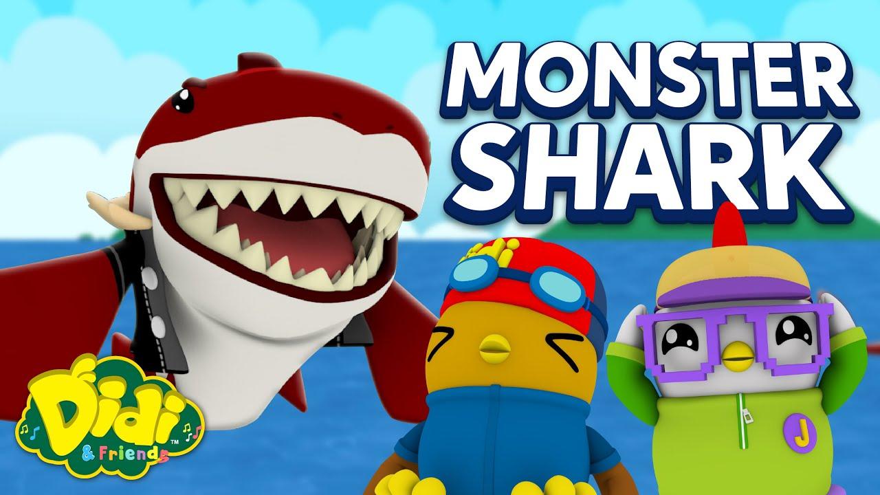 Monster Shark | Fun Family Song | Didi & Friends Songs for Children