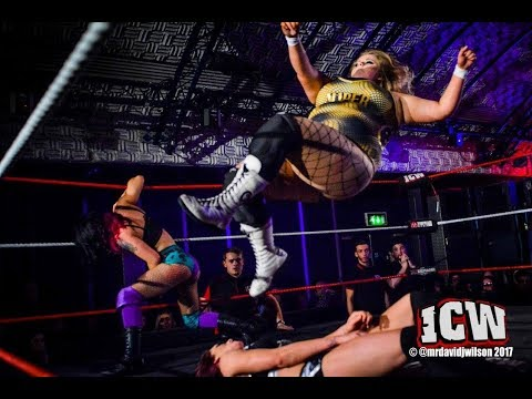 Three-way Steel Cage Match for the ICW Women's Title!