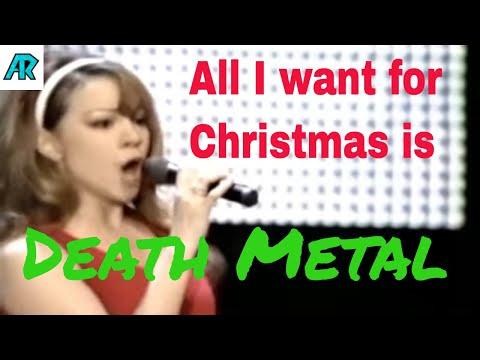 Mariah Carey Sings Death Metal for Christmas