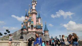 Диснейленд Франция Подарок Любимой Доченьке ! Disneyland France Gift beloved daughter!(У нашей дочки Лизы День рождение, и мы ей сделали подарок, поездку всей семьёй во Францию, и первый наш фильм..., 2016-07-17T10:48:24.000Z)