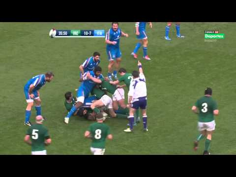 Ireland vs Italy - 08.03.14 - six nations rugby - HD