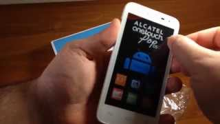 Alcatel Onetouch POP D5 Unboxing