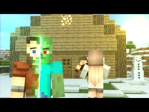 First Zombie: FULL ANIMATION - Minecraft Animation Movie