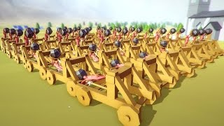 One of Blitz's most viewed videos: Totally Accurate Battle Simulator - Amazing Catapult Army! - TABS Funny Moments Gameplay