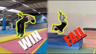 FAILS VS WINS | Parkour/Trampoline Motivation