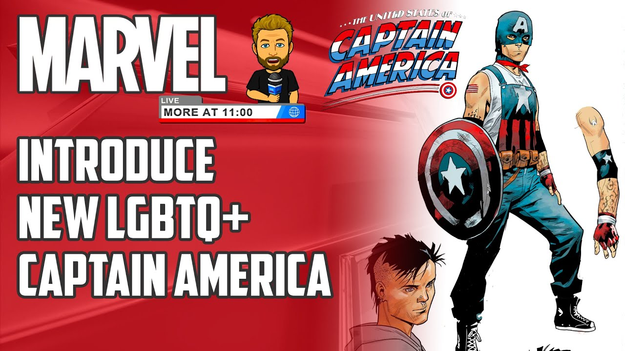 Marvel Reveals its First Gay Teen Captain America