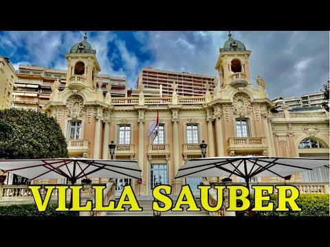 VILLA SAUBER THE NEW NATIONAL MUSEUM OF MONACO 4KHD