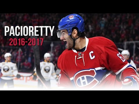 Max Pacioretty's All Goals from the 2016-2017 NHL Season