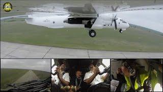 Air Urga Antonov 26 - watch Pilots and the airplane