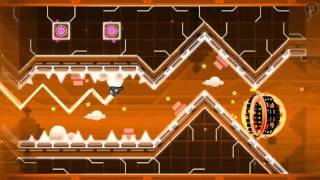 Geometry Dash Demon (Easy) - Insomnia by Dako