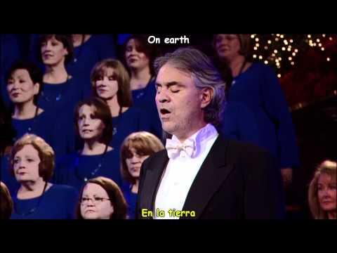 Andrea Bocelli - The Lord's Prayer - El Padre Nuestro  (subtitulos en español)