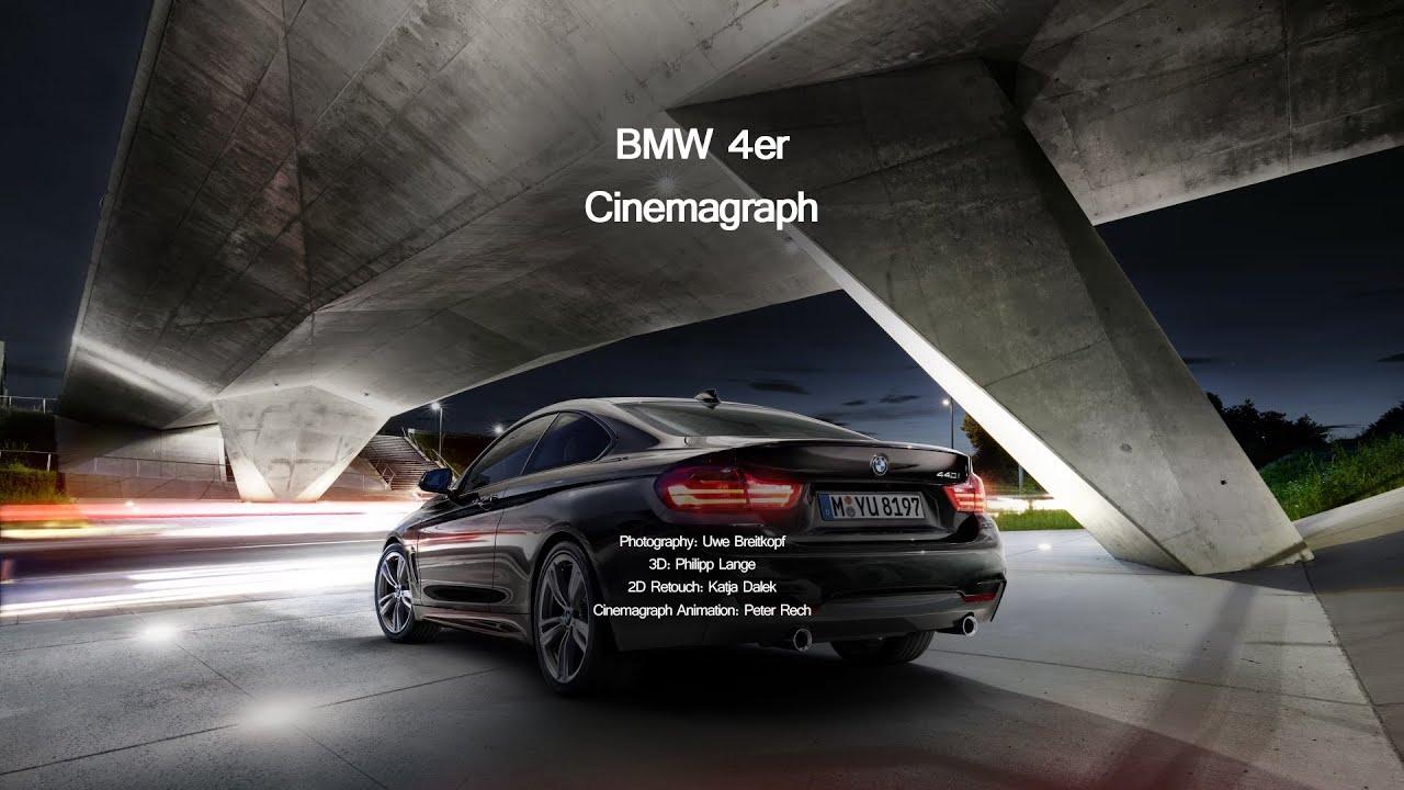 BMW 4er Cinemagraph