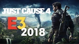 Tornadoes, New Map and More! I Just Cause 4 - E3 2018