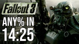 Fallout 3 Any% in 14:25