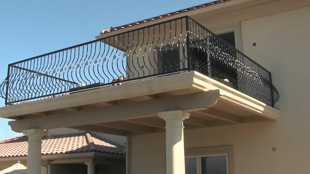 Patio Cover & Balcony Design - YouTube