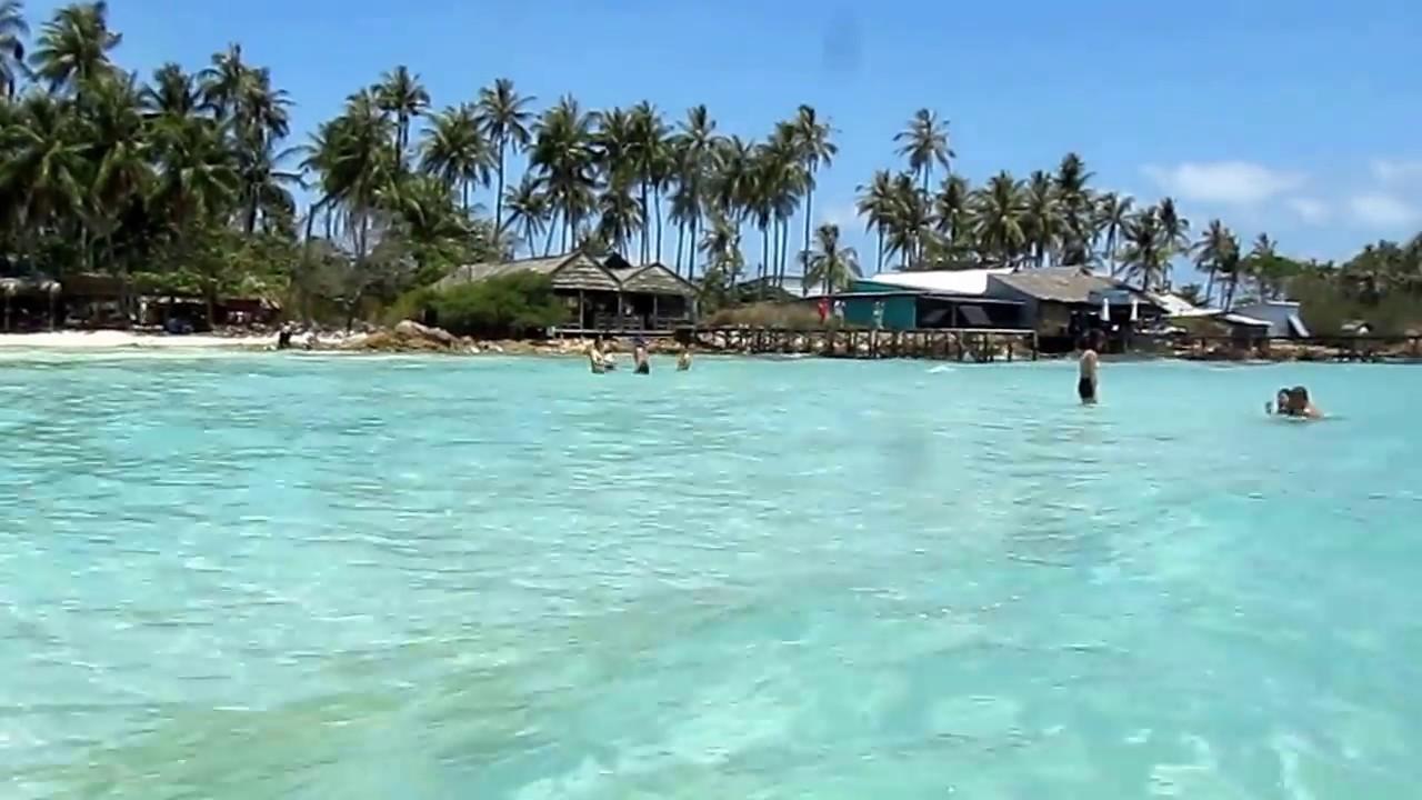 Bãi tắm Hòn Mấu - Quần đảo Nam Du - Kiên Giang - YouTube