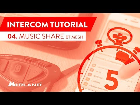 MIDLAND TUTORIALS - BT MESH - MUSIC SHARE - CONDIVISIONE MUSICA