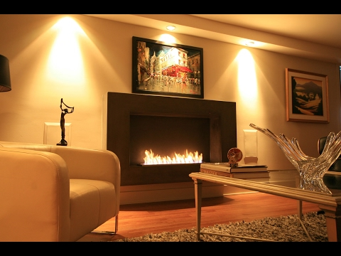 Modern Ventless Ethanol Fireplaces by The Bio Flame