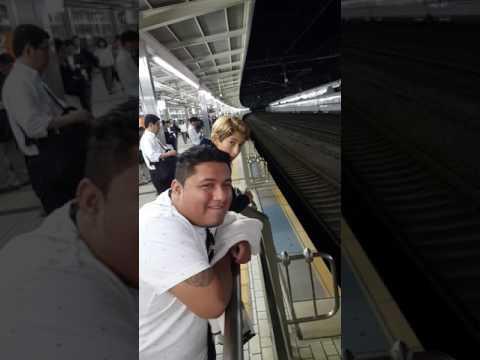 Hiroshima de vuelta a Tokyo 1er tren bala