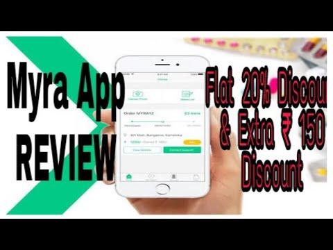 Ordering Medicines from Online-Myra App| Review