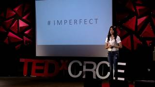 Turning #Imperfect on it's head | Sarah-Jane Dias | TEDxCRCE