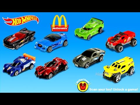 Mcdonalds Cars  Toys