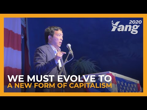 We Must Evolve to a New Form of Capitalism | Andrew Yang at the 2018 Iowa Wing Ding (Full Speech)