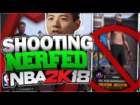 MIKE WANG SECRETLY NERFED THE MOST OVERPOWERED BUILD IN NBA2K18!